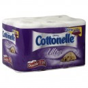 Cottonelle Ultra Bath Tissue Double Roll 2-Ply Unscented