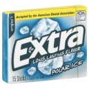 Wrigley's Extra Gum Polar Ice Sugar Free Single Pack