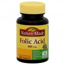 Nature Made Folic Acid 400 mcg Tablets