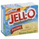 Jell-O Instant Pudding & Pie Filling Banana Cream Fat Free Sugar Free