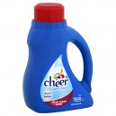 Cheer 2X Concentrated Liquid Laundry Detergent brightCLEAN Fresh Scent