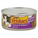 Friskies Wet Cat Food Classic Pate Turkey & Giblets Dinner