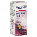 Mucinex for Kids Cough Expectorant & Suppressant Liquid Berry