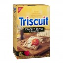 Nabisco Triscuit Crackers Baked Whole Grain Cracked Pepper & Olive Oil