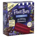 Dreyer's/Edy's Fruit Bars Antioxidant Acai Blueberry All Natural - 6 ct