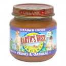Earth's Best Stage 2 Strained Foods Prunes & Oatmeal Organic