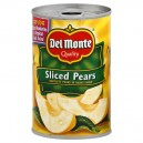 Del Monte Pears Bartlett in Heavy Syrup Sliced