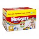 Huggies Snug & Dry Diapers Size 4 Both Big Pack - 22-37 lbs