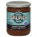 Salpica Totally Natural Salsa Tomato Jalapeno Medium