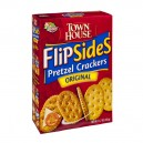 Keebler Town House Flip Sides Pretzel Crackers Original