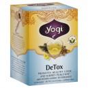 Yogi DeTox Body Purifier Healing Formula Tea Bags Organic