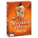Post Healthy Classics Cereal Shredded Wheat Honey Nut Spoon Size