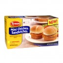 Tyson Chicken Sandwiches Mini Fully Cooked - 8 ct Frozen