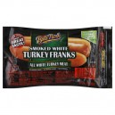 Ball Park Franks Smoked White Turkey Bun Size Fat Free - 8 ct