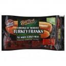 Ball Park Franks Smoked White Turkey Bun Size Fat Free - 8 ct