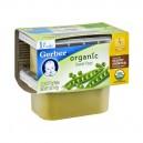 Gerber 1st Foods Sweet Peas Organic - 2 pk