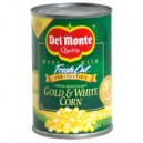 Del Monte Fresh Cut Corn Whole Kernel Sweet Gold & White