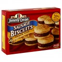Jimmy Dean Biscuits Sausage Snack Size - 20 ct
