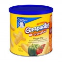 Gerber Graduates Lil' Crunchies Baked Whole Grain Corn Snack Veggie Dip