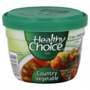 Healthy Choice Soup Bowl Country Vegetable Microwaveable