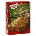 Duncan Hines Premium Muffin Mix Apple Cinnamon 100% Whole Grain