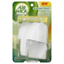 Air Wick Double Fresh Air Freshener Scented Oil Warmer Dual Chamber Unit