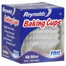 Reynolds Baking Cups Foil Mini 2 Inch