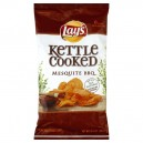 Lay's Kettle Cooked Potato Chips Mesquite BBQ All Natural