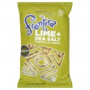 Frontera Tortilla Chips Lime + Sea Salt 100% Natural