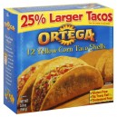 Ortega Taco Shells - 12 ct