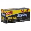Glad ForceFlex Trash Bags Large with Drawstring 30 Gallon