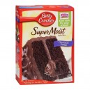 Betty Crocker Supermoist Cake Mix Chocolate Fudge