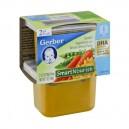 Gerber 2nd Foods SmartNourish Garden Vegetable & Whole Wheat Pasta - 2 pk