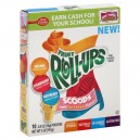 Betty Crocker Fruit Roll-Ups Scoops Fruity Ice Cream Flavors - 10 ct