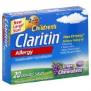 Claritin Children's Allergy 24 Hour Grape Flavored Chewables