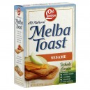 Old London Melba Toast Sesame Whole Grain