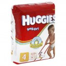Huggies Snug & Dry Diapers Size 4 Both Jumbo Pack - 22-37 lbs