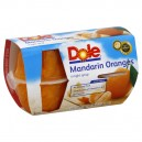 Dole Fruit Bowls Orange Mandarin in 100% Juice - 4 ct