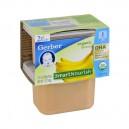 Gerber 2nd Foods SmartNourish DHA Bananas Organic - 2 pk
