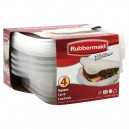 Rubbermaid TakeAlongs Containers Sandwich Clear