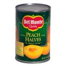 Del Monte Peaches Yellow Cling Halves in Heavy Syrup