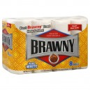 Brawny Paper Towels 2-Ply White
