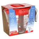 Pyrex Measuring Cup with Lid 16 oz