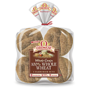 Oroweat 100% Whole Wheat Hamburger Buns 4.5'' - 8 ct