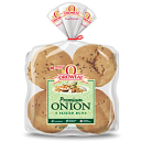 Oroweat 100% Premium Onion Hamburger Buns 4.5'' - 8 ct