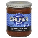 Salpica Totally Natural Salsa Roasted Corn & Bean Medium