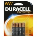 Duracell Coppertop Alkaline Batteries Size AAA