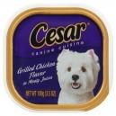 Cesar Original Pate Wet Dog Food Grilled Chicken