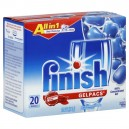 FINISH All in 1 Gelpacs Auto Dishwasher Detergent + Jet-Dry Fresh Scent