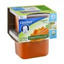 Gerber 2nd Foods SmartNourish DHA Carrots Organic - 2 pk
